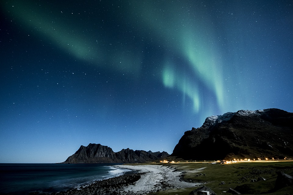 Polarlichter in Norwegen (Foto by pixabay)