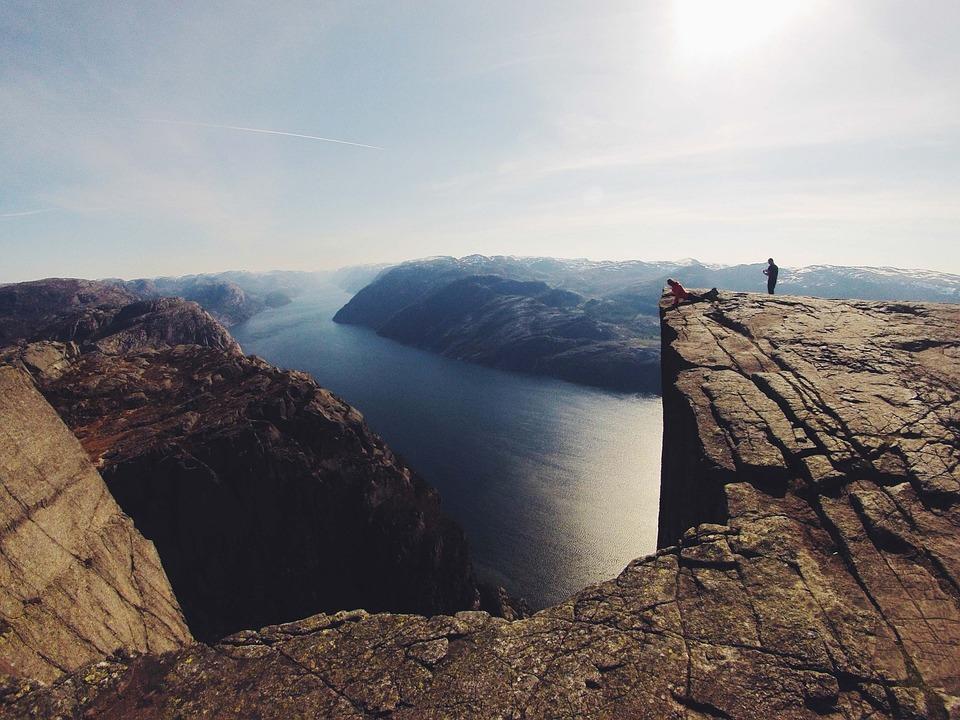 Einzigartige Landschaft in Norwegen (Foto by Pixabay)